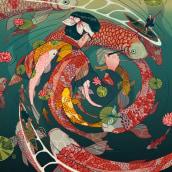 Ukiyo-e Tale. Un proyecto de Ilustración, Bellas Artes y Cómic de Nicolás Castell - 26.11.2016