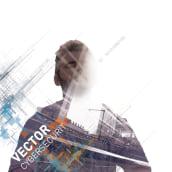 Branding Vector Cybersecurity. Um projeto de Direção de arte e Design gráfico de Alejandro Gómez Naranjo - 28.11.2016