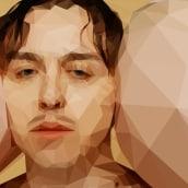 """Tommy Cash - Low Poly Illustration from """"Winnaloto"""". Um projeto de Ilustração, Música e Áudio e Design gráfico de Not On Earth - Marc Soler - 30.11.2016"""