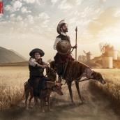 Don Quijote. Un projet de Photographie, Direction artistique , et Design graphique de Pitu López - 01.12.2016