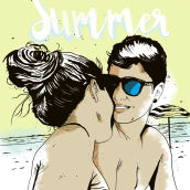 Summer. A Graphic Design & Illustration project by Ivan Rodriguez Olvera - 12.05.2016