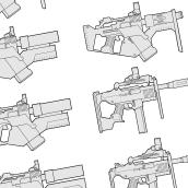 Weapons concept art. Un proyecto de Ilustración de Marco Antonio Paraja Corbato - 05.12.2016