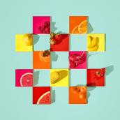 Fruit Tiles. Um projeto de Fotografia e Direção de arte de Paloma Rincón - 09.11.2016