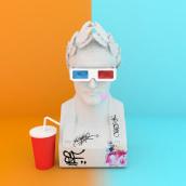 Bustos. Un proyecto de Diseño, Ilustración, 3D y Bellas Artes de Sergio García Arribas - 13.12.2016