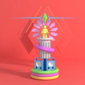 Totems. Un proyecto de Diseño, Ilustración, 3D y Bellas Artes de Sergio García Arribas - 13.12.2016