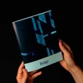 Beige,  Diseño editorial, con Edu Piracés. Um projeto de Design editorial de Fernando Galende - 16.12.2016