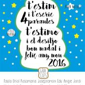 Christmas greetings. Un progetto di Graphic Design e Illustrazione di Jordi-Pau Roca Valls (The Til·li) - 02.01.2017