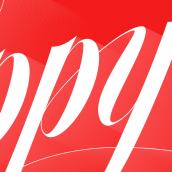 Happy New Year. Um projeto de Design, Tipografia e Caligrafia de Carlos de Toro - 04.01.2017