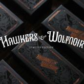 Hawkers & Wolfnoir Ltd. Edition. Un projet de Illustration, Design graphique , et Packaging de David Sanden - 10.01.2017