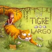 Un Tigre Muy Largo. A Illustration project by Zoraida Zaro - 11.01.2017