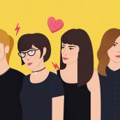 Las Odio - TENTACIONES nº20. Un proyecto de Diseño editorial e Ilustración de Eva Mez - 16.01.2017