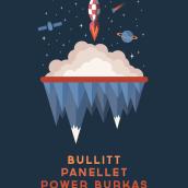 Bullitt + Panellet + Power Burkas. Un proyecto de Diseño gráfico e Ilustración de Xavier Calvet Sabala - 29.01.2017