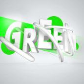 GREEN. Un proyecto de 3D y Motion Graphics de carlos morales - 30.01.2017