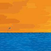 Mar infinito. Un proyecto de Cómic e Ilustración de Luis Linares Izquierdo - 03.02.2017