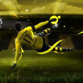 Futbol Soccer. Un proyecto de Diseño, Fotografía, Diseño gráfico y Vídeo de carlos morales - 06.02.2017