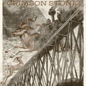 GIG Poster Dieaway+Crimson Stone. Um projeto de Design gráfico e Ilustração de Johnny Piñeiro - 13.02.2017