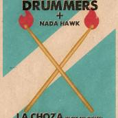 GIG Poster GAS Drummers. Um projeto de Design gráfico e Ilustração de Johnny Piñeiro - 13.02.2017