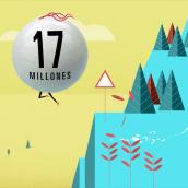 Euromillones. No hay nada mas grande. Um projeto de Animação e Design de Croke Estudio - 22.12.2016
