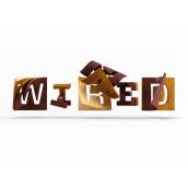 wired magazine. Um projeto de 3D e Tipografia de Jenue - 12.02.2017