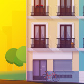 Malasaña. A Kunstleitung und Illustration project by BlauBear Design Studio - 15.02.2017