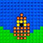 8 Bit Egg Loop (Stop motion). Un progetto di Animazione, Direzione artistica, Postproduzione , e Stop Motion di Julian Villanueva - 14.04.2016