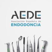 AEDE, Asociación Española de Endodoncia. Un proyecto de Br, ing e Identidad, Diseño gráfico y Diseño Web de Natalia Weber Antón - 21.09.2016