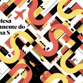 Revista FIEC . Um projeto de Design editorial e Ilustração de Romualdo Faura - 24.02.2017
