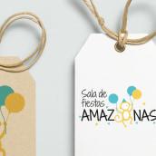 Amazonas. Sala de fiestas. Un projet de UI / UX, Design graphique , et Web Design de Laura Guanyabens - 15.12.2016