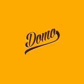 """Domo """"Burgers & Sandwiches"""". Un proyecto de Diseño, Dirección de arte, Gestión del diseño y Diseño gráfico de Montenegro Creative Studio - 06.03.2017"""