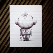 Apuntes de clase. A Illustration project by Puño - 03.08.2017