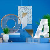 HOLA 2017. Un proyecto de 3D, Dirección de arte y Tipografía de Jose Checa - 10.03.2017