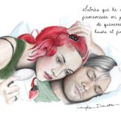 Retratos de Cine - Eternal Sunshine of The Spotless Mind. A Illustration project by Eryka Ilarreta - 03.16.2017