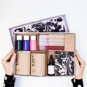 Marbling Kit. A Design, H, werk und Verpackung project by Fábrica de Texturas - 22.03.2017