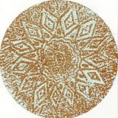 Mandalas, xylogravure.. Un projet de Design , Artisanat, Beaux Arts, Peinture, Collage , et Art urbain de Cristina Haapalainen Cohen - 22.09.2007