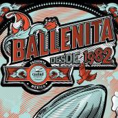 Ballenita - Cartel Práctica. A Design & Illustration project by Ademar García - 03.27.2017
