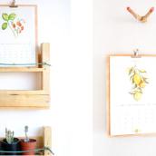 Calendar 2017. Un proyecto de Diseño, Fotografía y Dirección de arte de Alejandra Quiceno - 12.04.2017