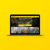 Beebiker - Website design. Un proyecto de Diseño Web y UI / UX de La Patería - 20.04.2017