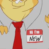 Hi! I'm New. Um projeto de Animação, Animação de personagens e Cinema de Esdip_ - 24.04.2017