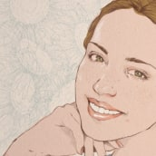 Ella siempre sonreía. A Illustration project by Judith González - 06.02.2017