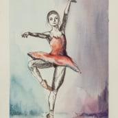 Bailarinas. Un proyecto de Ilustración y Pintura de Ana Traba de la Gándara - 10.06.2016