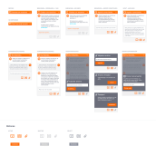 Chat soporte Simyo. A UI / UX project by Diga33! - 06.18.2017