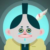 LA NOCHE DEL COYOTE · Microhistorias animadas con After Effects. Un projet de Illustration, Motion Design, Animation , et Character Design de Lucas Martínez Martínez - 21.06.2017