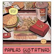 Mi Proyecto del curso: PAPILAS GUSTATIVAS. Un proyecto de Cómic e Ilustración de Rosa Codina - 22.06.2017