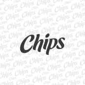 Chips Logotype. A Br, ing, Identit, T, pograph, and Lettering project by Andres Ramirez - 06.22.2017