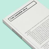 Libro Yuri Zagorin: ZD+A. A Editorial Design project by David Kimura - 11.04.2015