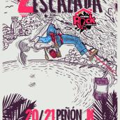 2 Festival de escalada / Chapin Rock Climb. A Art Direction, Graphic Design & Illustration project by Carlos chong - 07.17.2017