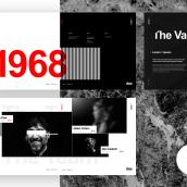 Das - Template Web de Arquitectura. Um projeto de UI / UX, Direção de arte, Design gráfico e Web design de Adrián Somoza - 25.07.2017