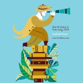 Feria del Libro de Valencia 2014. Un proyecto de Ilustración, Publicidad y Diseño gráfico de Marta Chaves - 24.04.2014