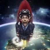 Cohete Miguelillo. Un projet de Photographie, Post-production , et Retouche photographique de Pitu López - 02.08.2017