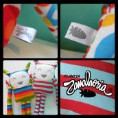 Logo y Etiquetas Planeta Zanahoria. A Graphic Design project by Melanie Mercer - 02.01.2017